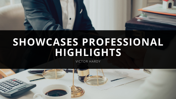 Victor Hardy Showcases Professional Highlights